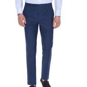 Canali Wool Blend Dress Pants